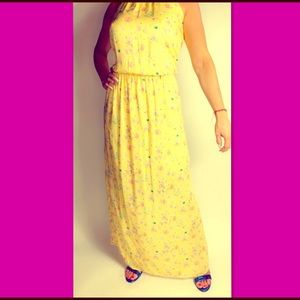 New Mango florals maxi dress!